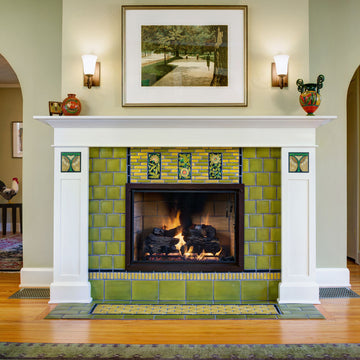 Sunflower Fireplace