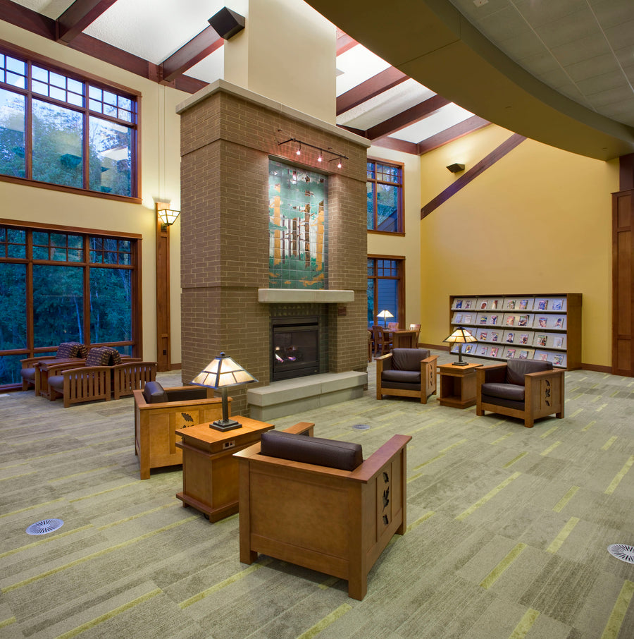 Delta Township District Library | Woodland Mural