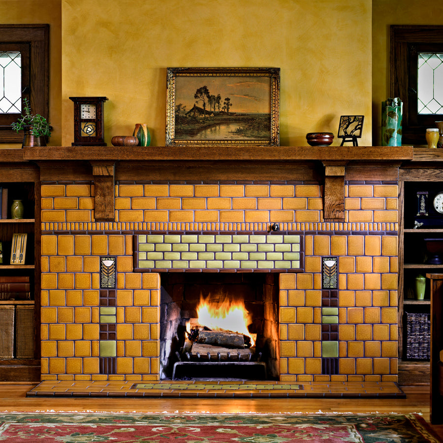 Dard Poppy Fireplace