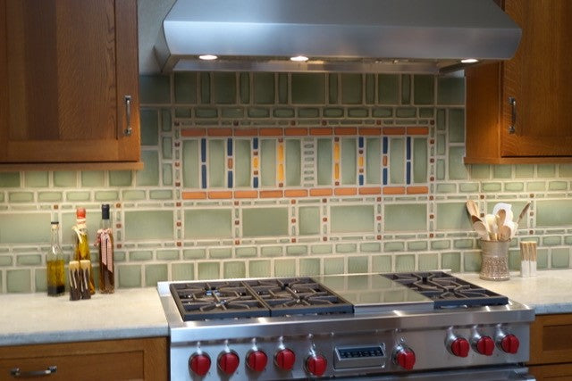 Favorite Installation | Frank Lloyd Wright Inspired Kitchen