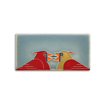 3671 SB | 3x6 Cardinal Couple, Storm Blue