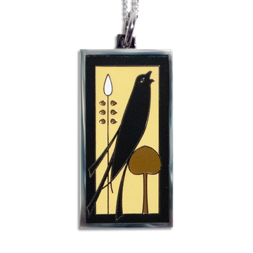 Songbird Pendant Necklace - Golden