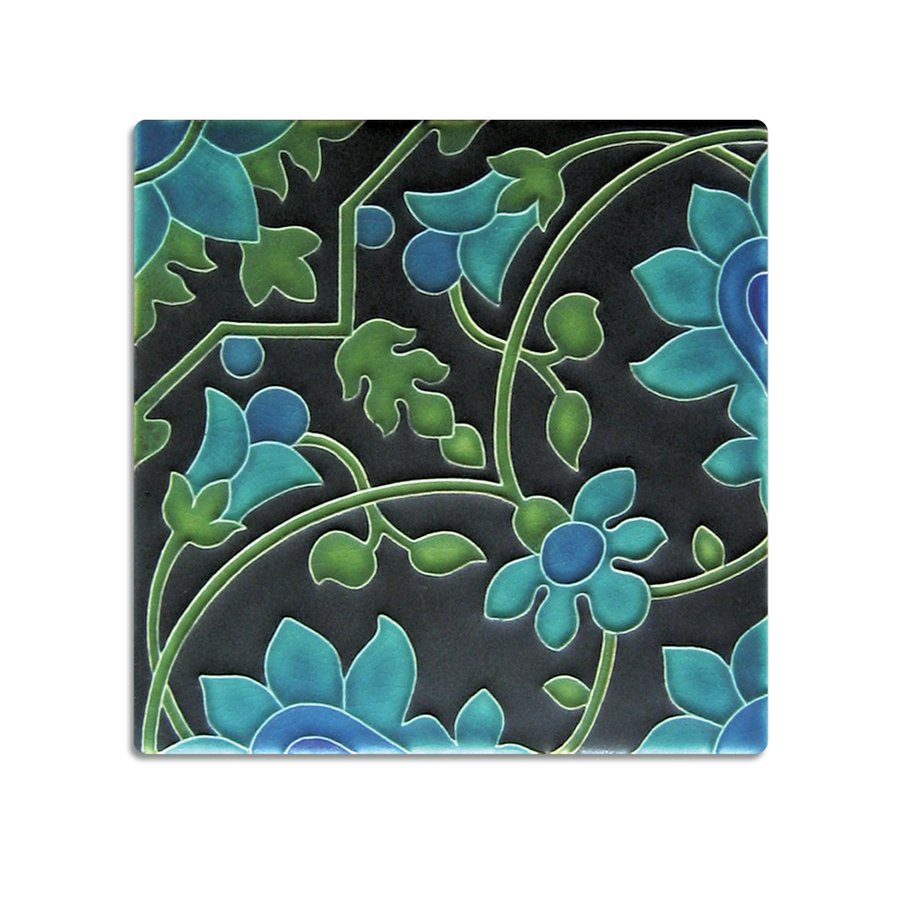 6x6 Tapestry Wallpaper, Dark Green
