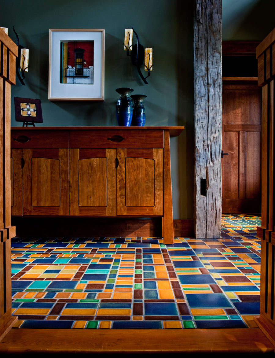 Color Mosaic Floor