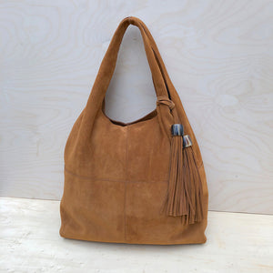 MEGHAN BAG - Veloursleder