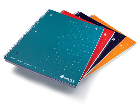 Single Subject Notebook, 4-Pack (#1-4)