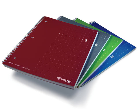 Single Subject Notebook, 4-Pack (#5-8)