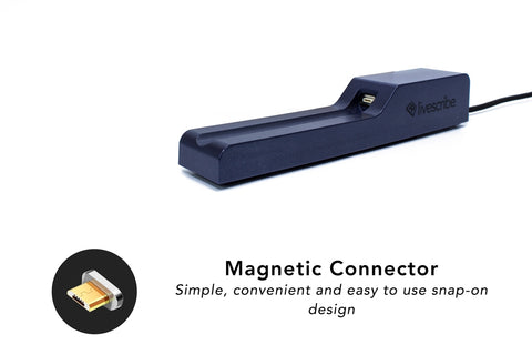 USB Charging Cradle with Magnetic Connector