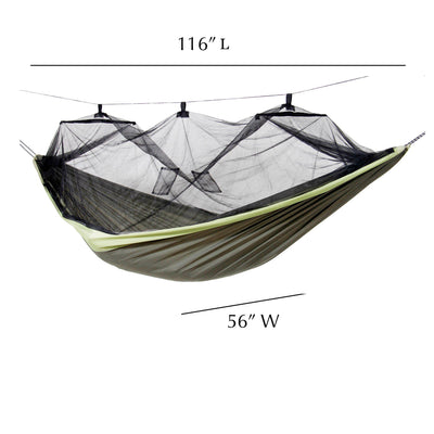 Byer of Maine Mosquito Kakoon Hammock measurements