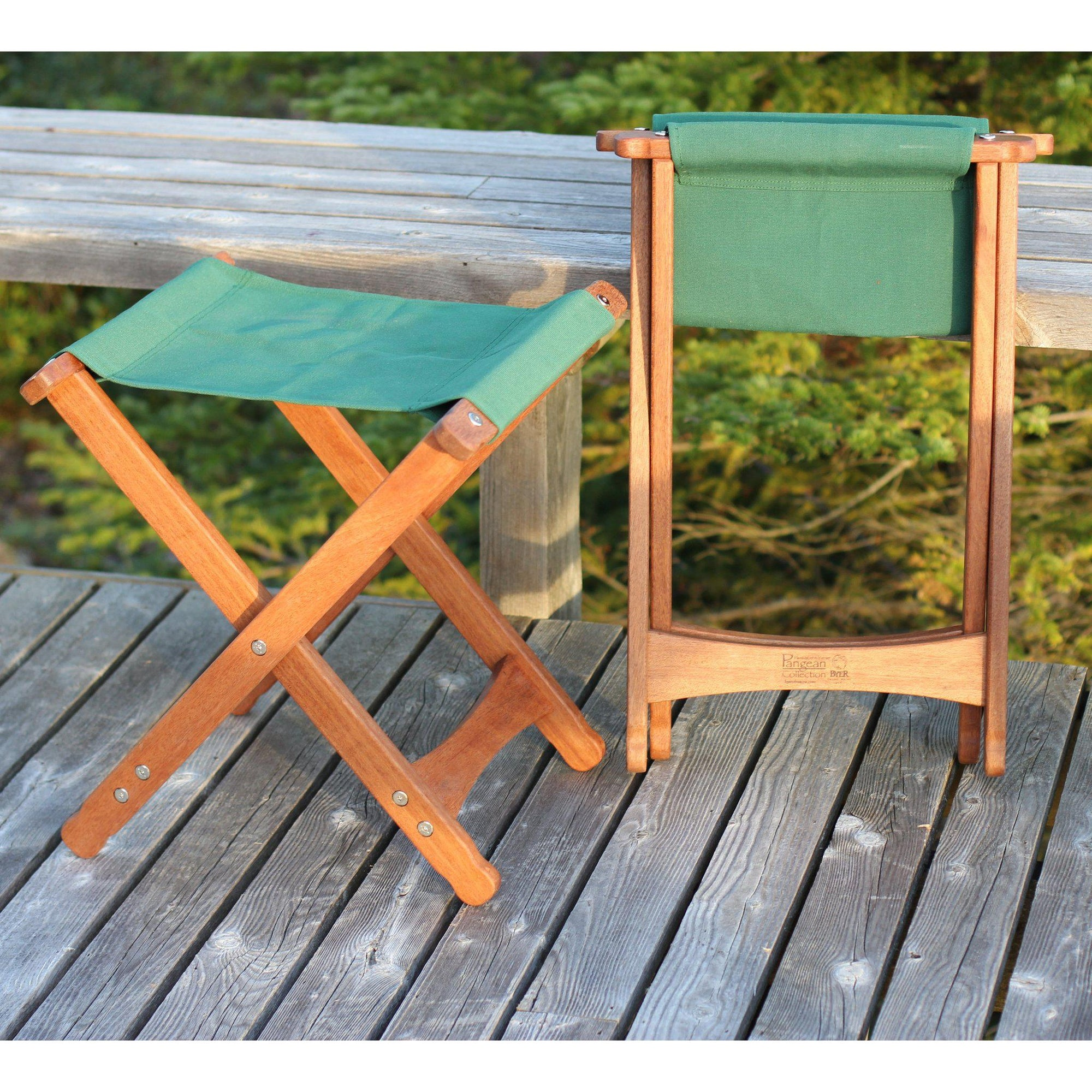 Pangean Folding Stool, from Byer of Maine