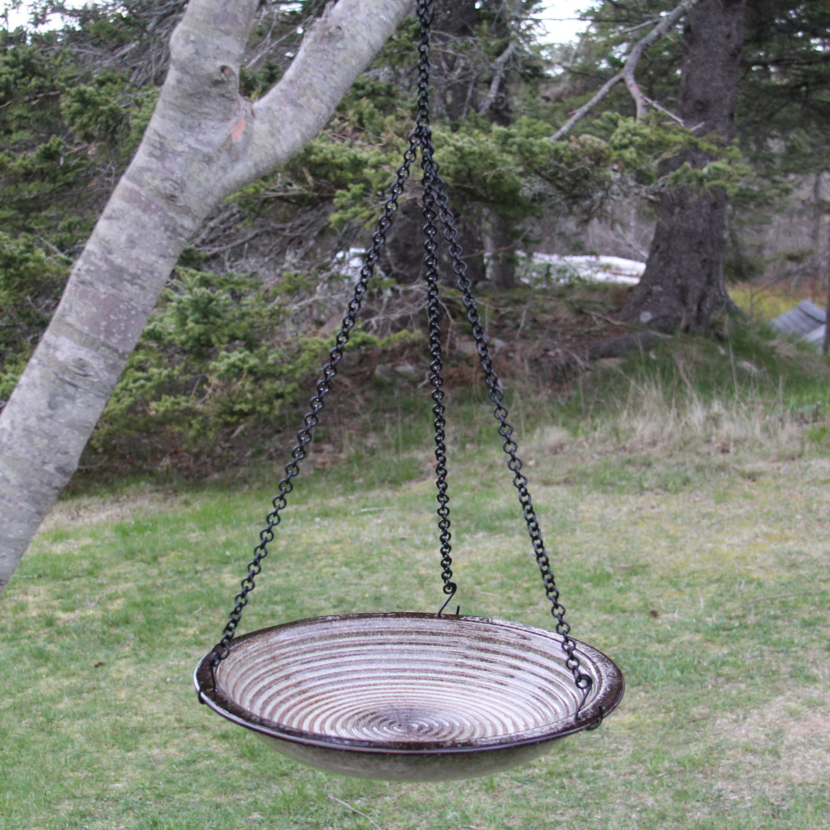 Circles Bird Bath, Hanging Style
