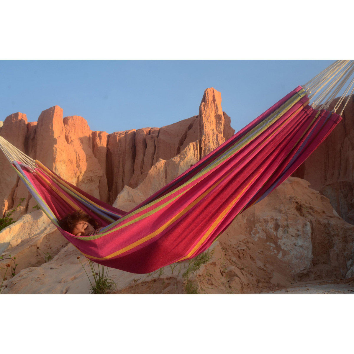 Barbados single Hammock in Sorbet