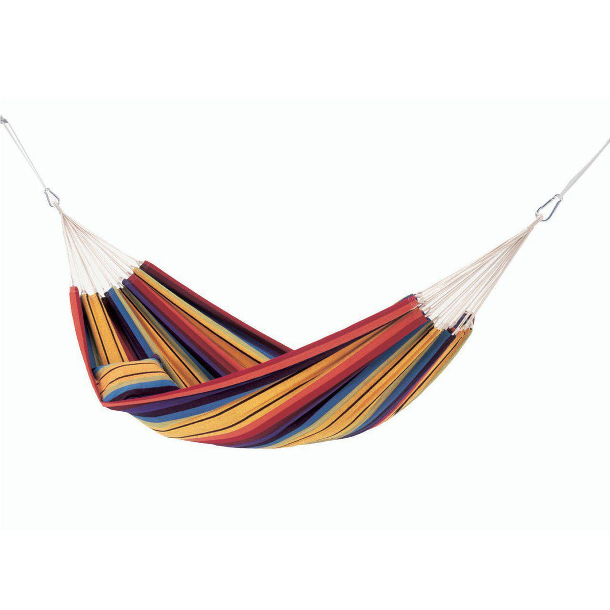 Barbados single Hammock in Rainbow