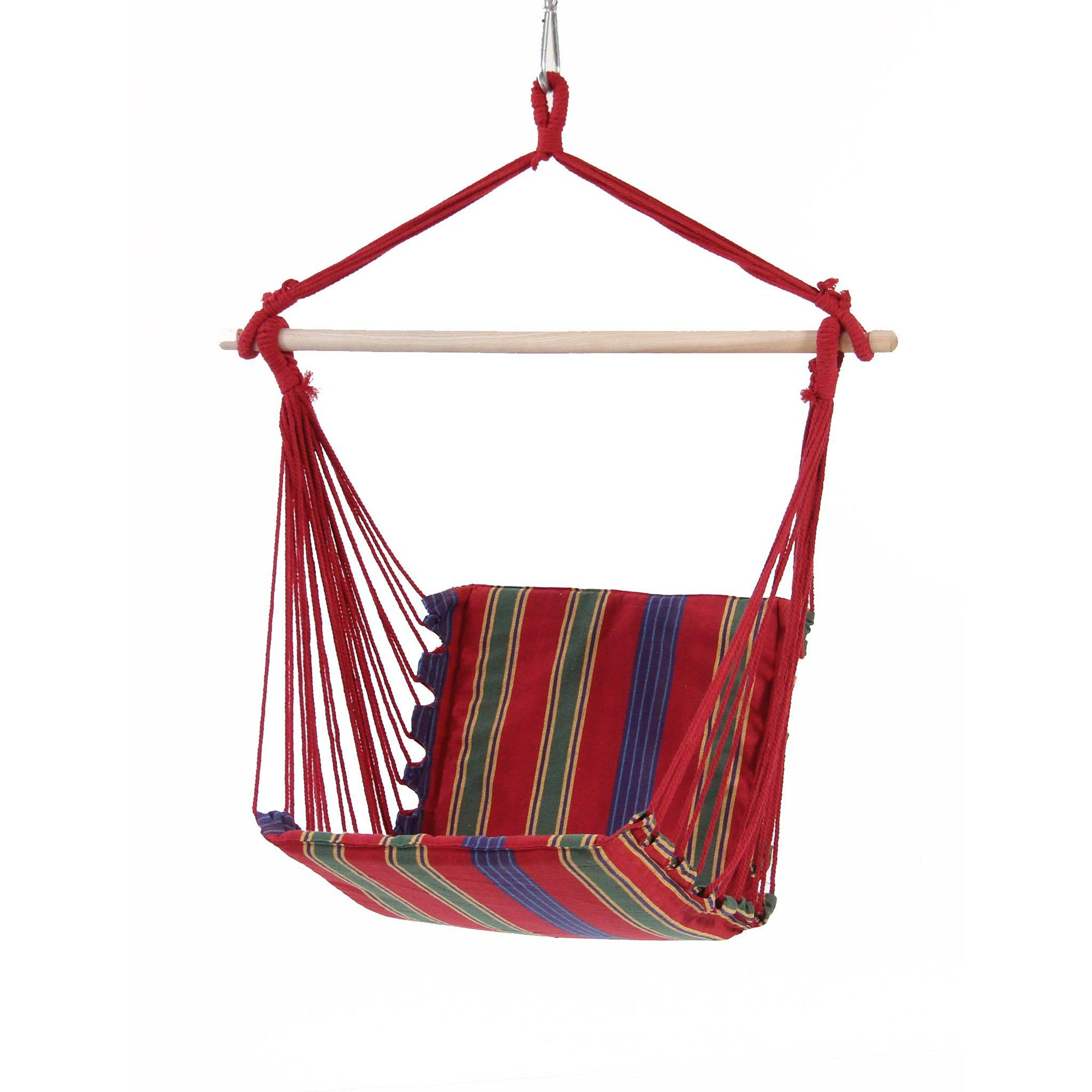 Belize Hanging Chair in red