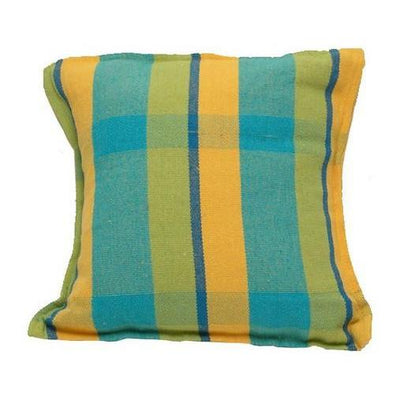 Brazilian Hammock Pillow, Mustard Blue, from Byer of Maine