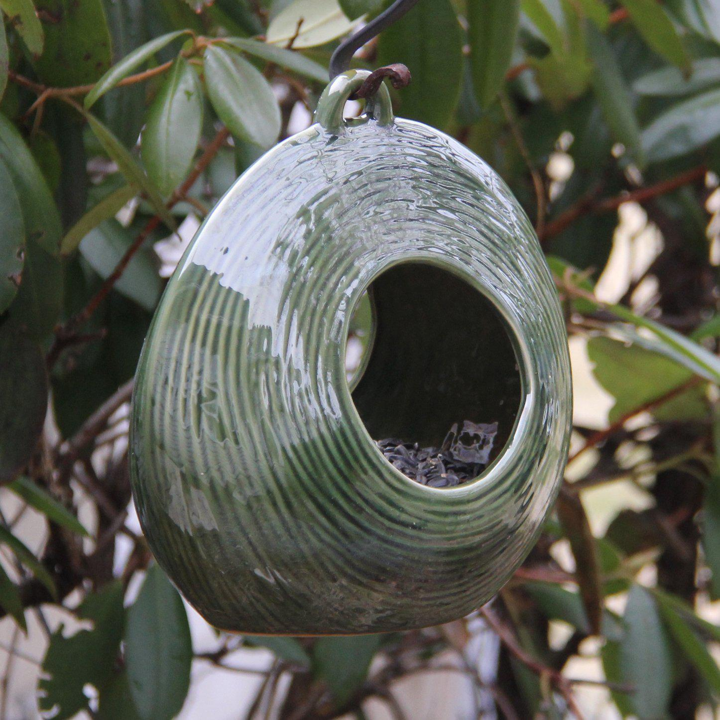 Circles Fly-Through Feeder, Heather Brown, from Byer of Maine