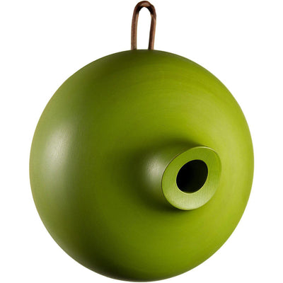 Ellipse Bird Home, Green, from Byer of Maine