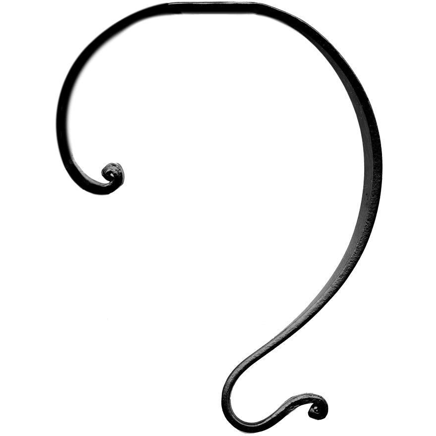 Forged Steel Hook old, from Byer of Maine