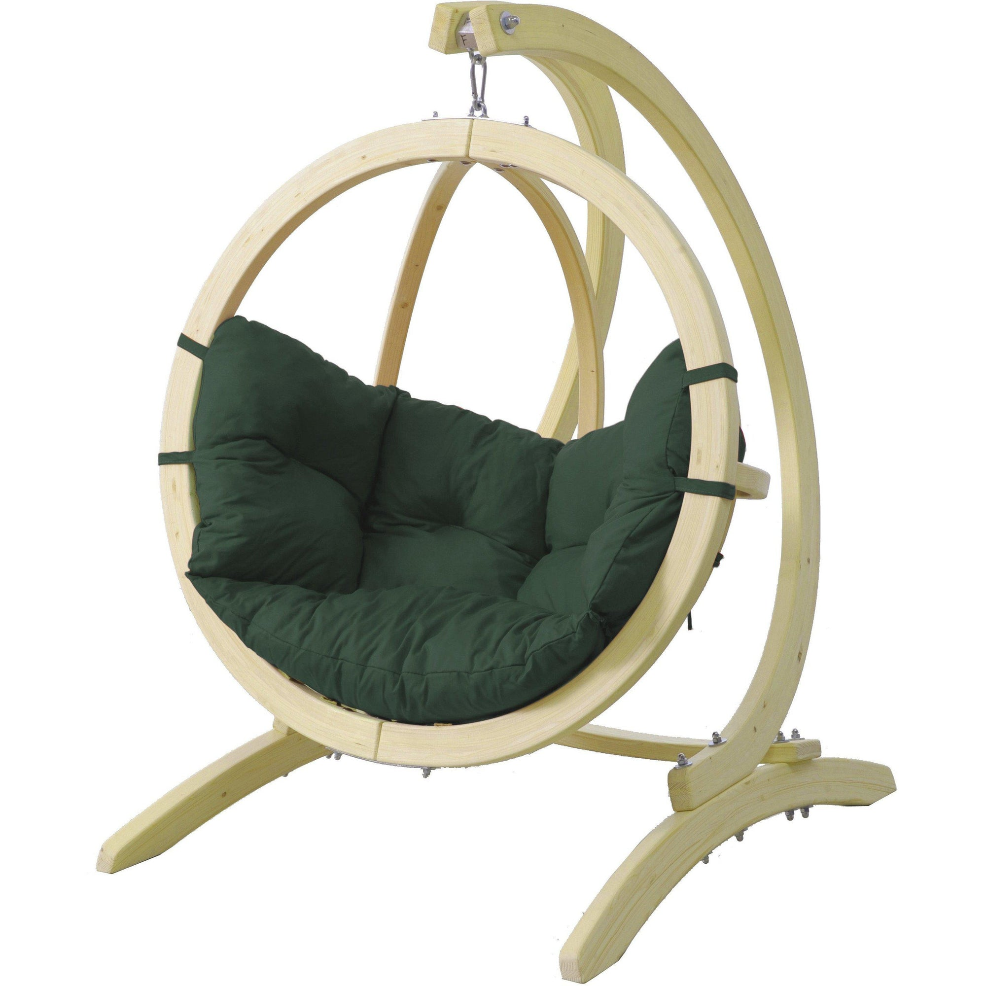Globo Kid's Chair and Stand, Green Agora, from Byer of Maine