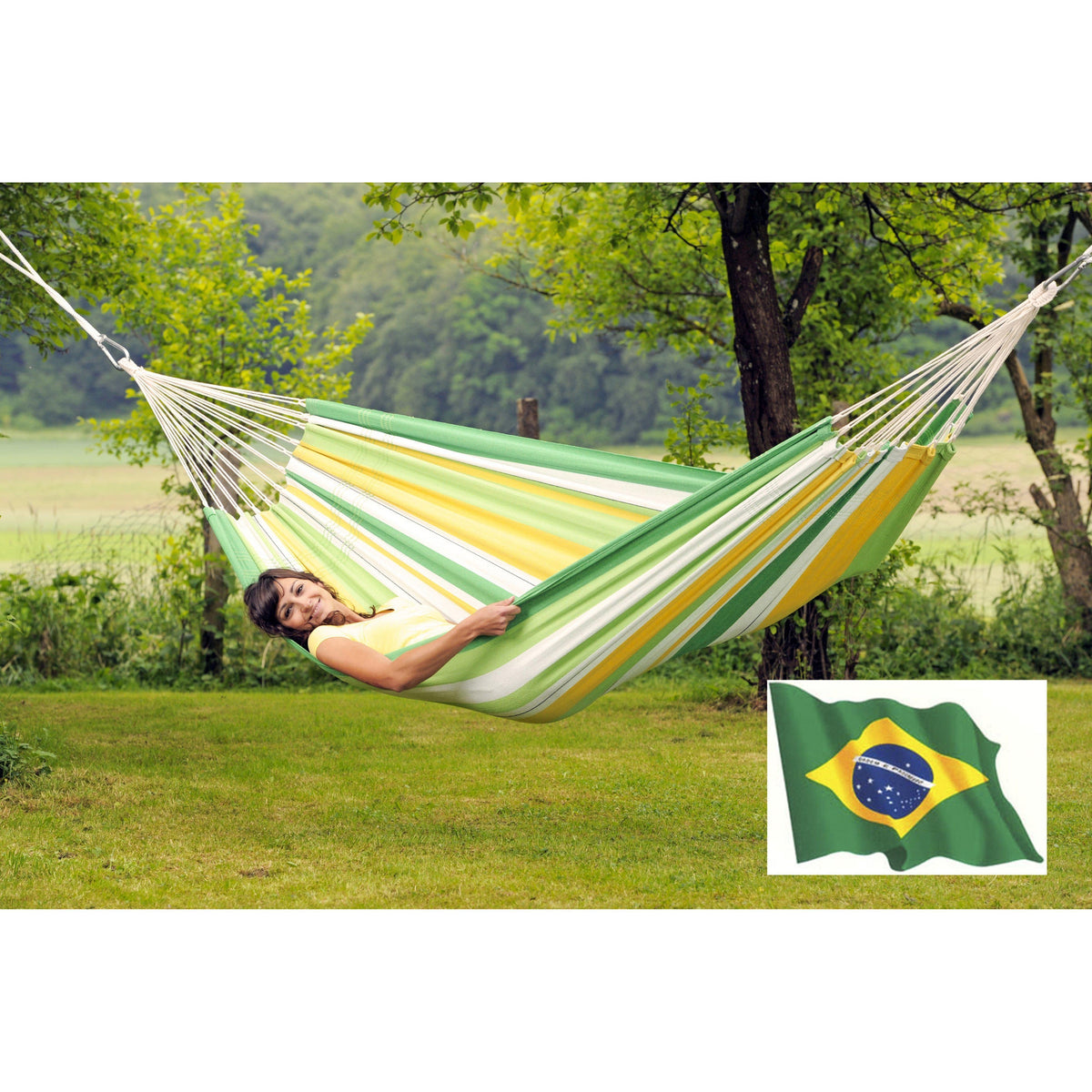 Lambada Hammock in Apple Green