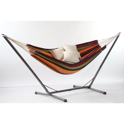 Lambada Hammock and Ceara Hammock Stand, from Byer of Maine
