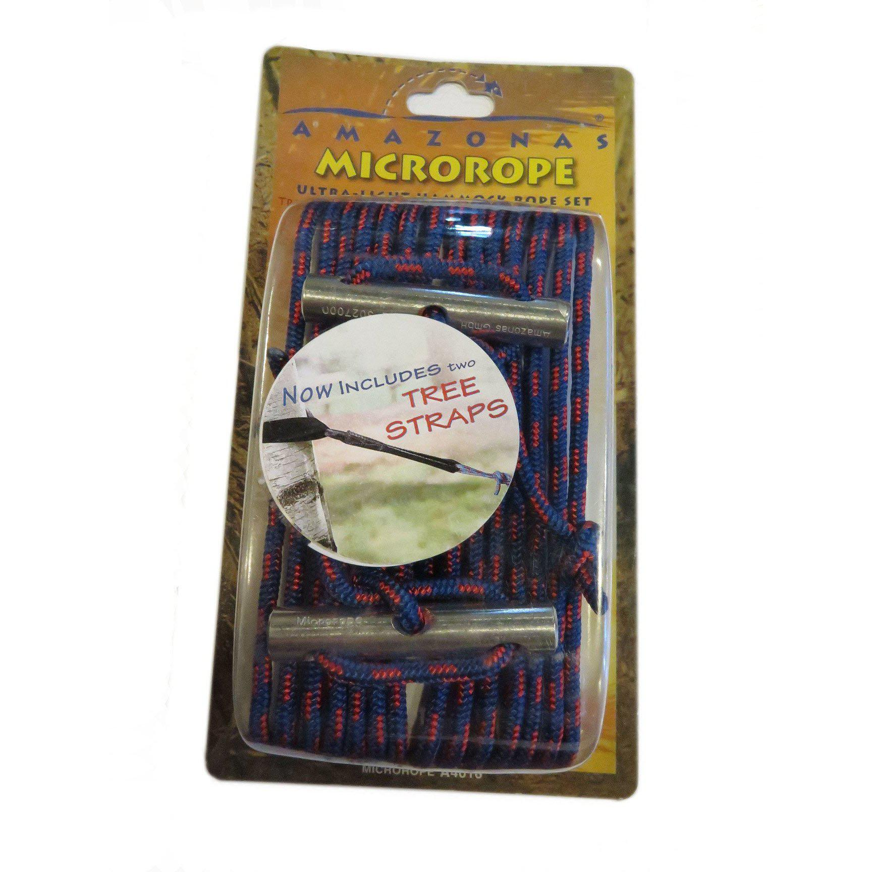 Microrope with straps
