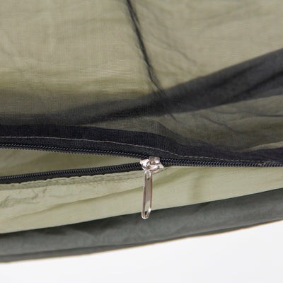 Byer of Maine Mosquito Kakoon Hammock zipper detail