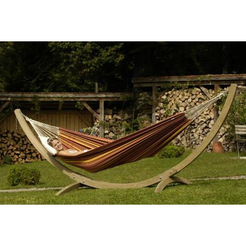 Olymp Hammock Stand with Barbados Sunset Hammock