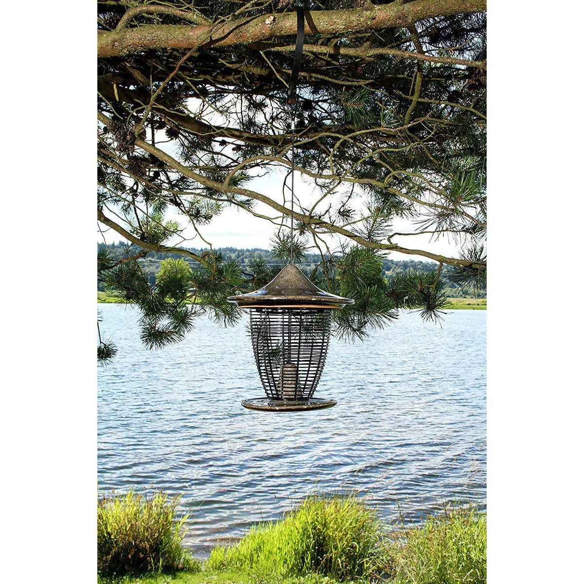 Pagoda Bird Feeder, from Byer of Maine