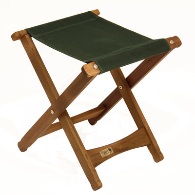 Pangean Folding Stool, Forest Green, from Byer of Maine