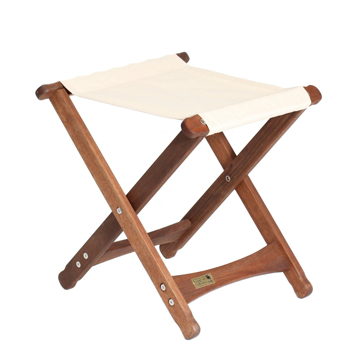 Pangean Folding Stool, Natural, from Byer of Maine