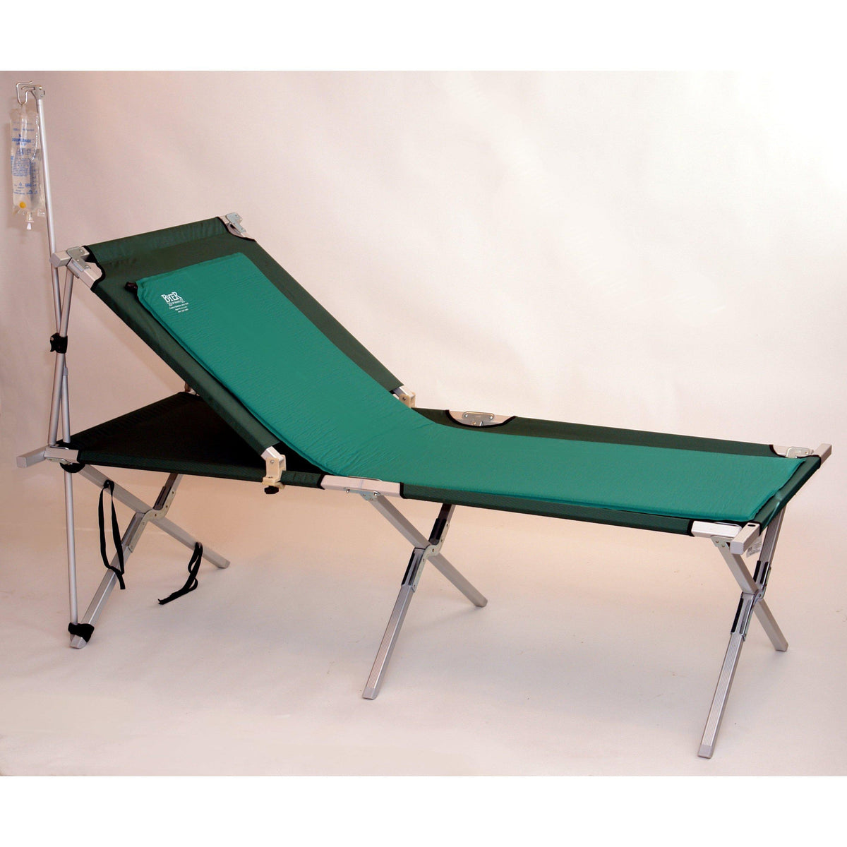 Special Needs Back Rest with IV pole & Comfort Mat