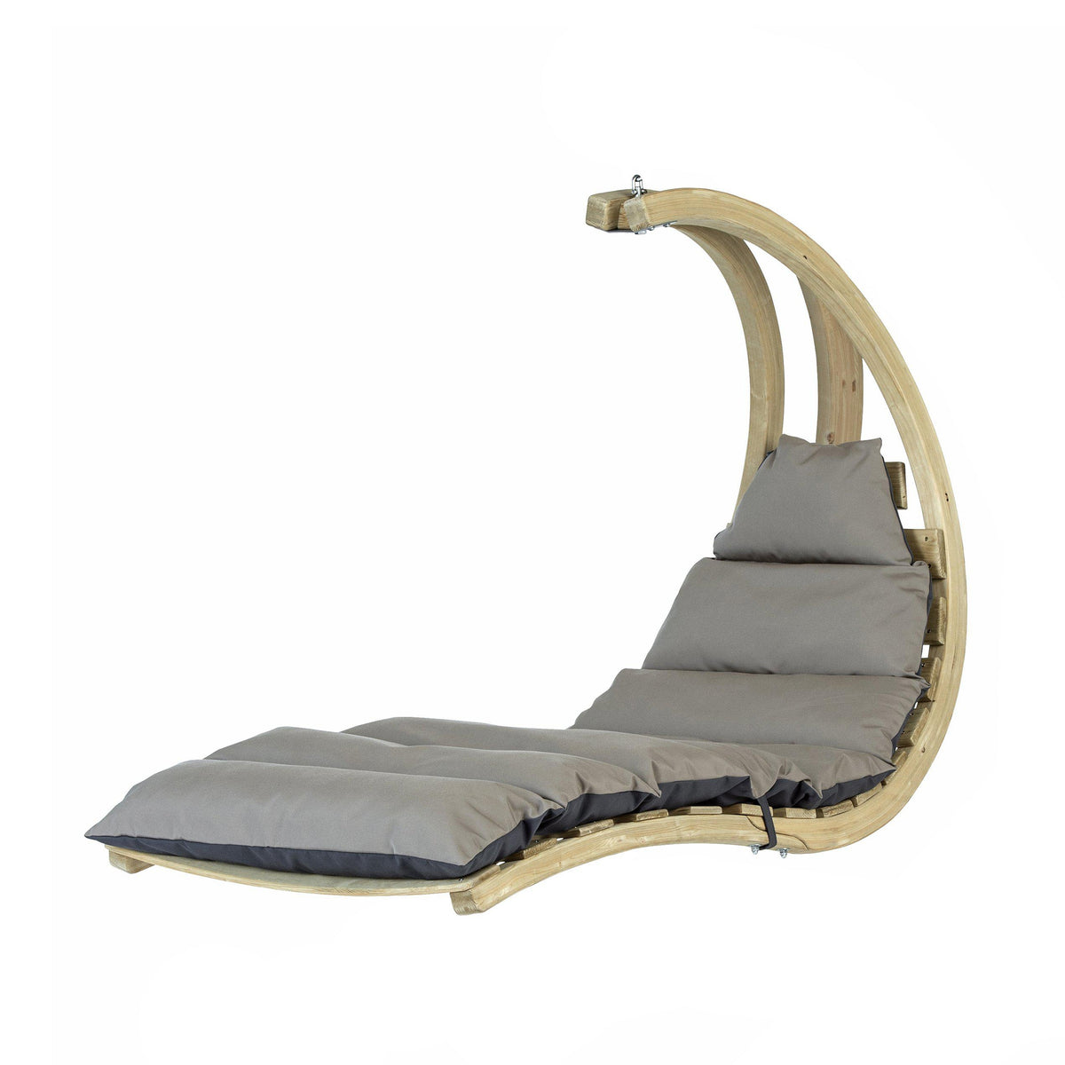 Swing Lounger, Anthracite/Taupe, from Byer of Maine