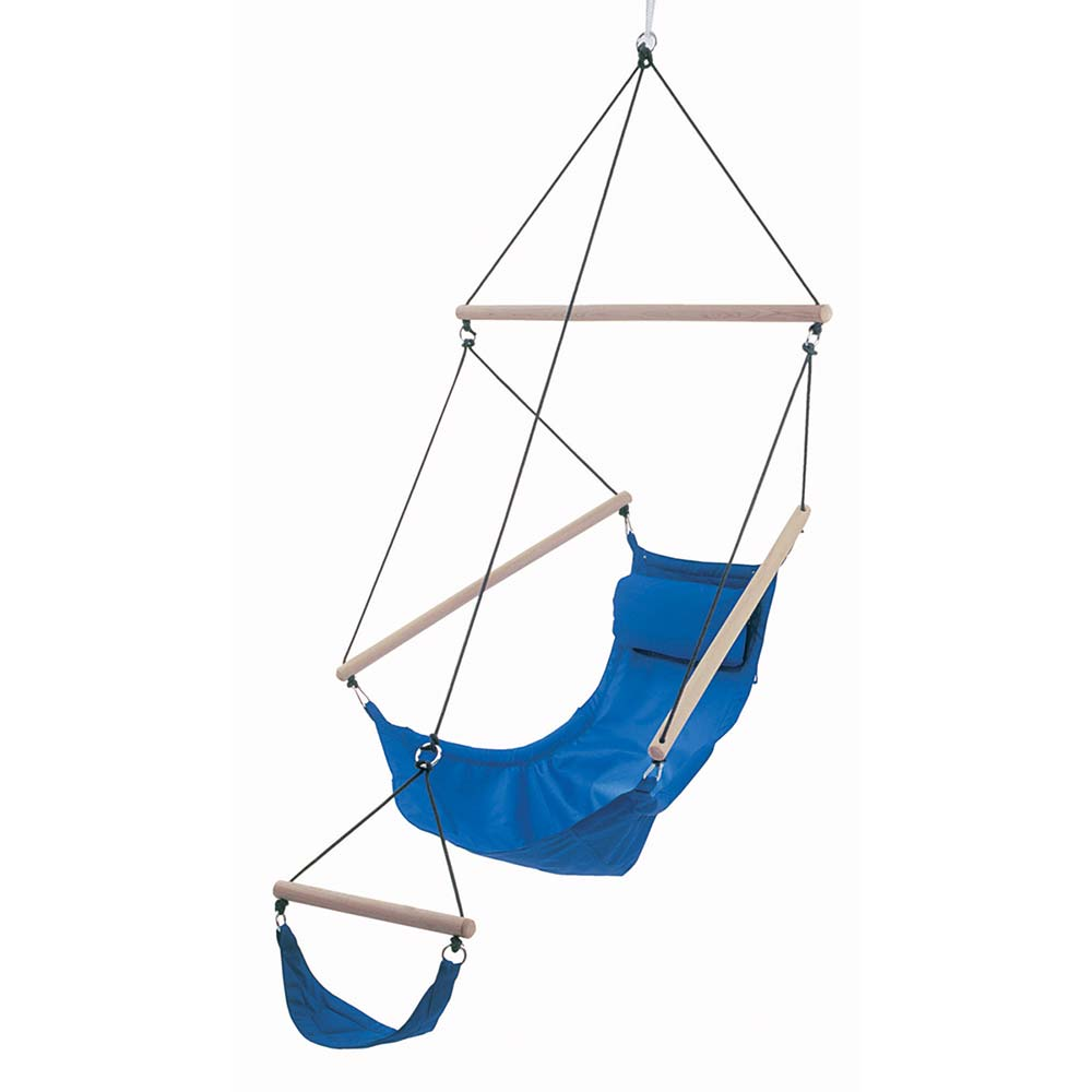Swinger Chair in Royal Blue