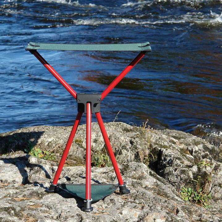 TriLite Stool on Rivers Edge