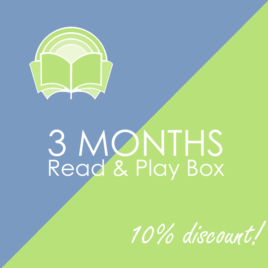 3 Months Read & Play Box