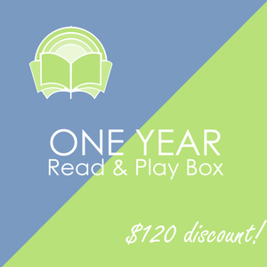 One Year Read & Play Box Subscription