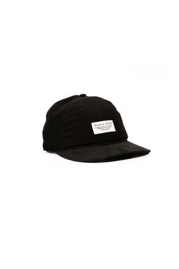 Corded Velveteen Hat - Smoke