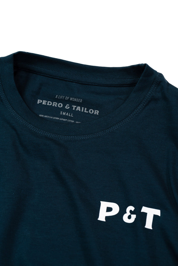 pedro-and-tailor_Logo Tee - Navy