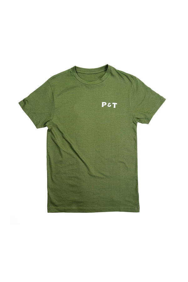 pedro-and-tailor_Logo Tee - O.D. Green