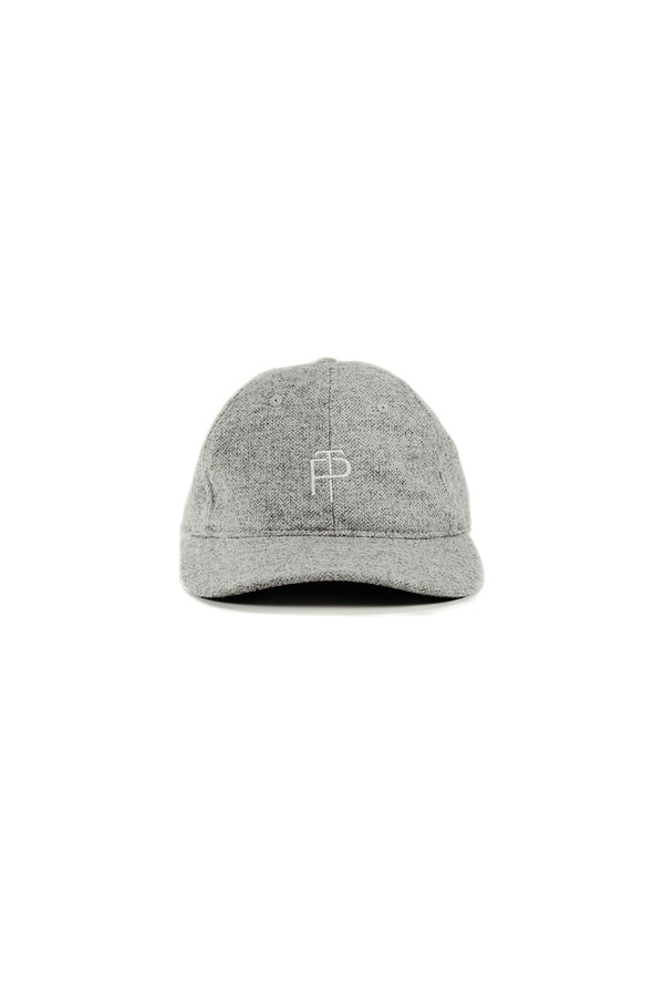 Heritage Hat - Grey Herringbone
