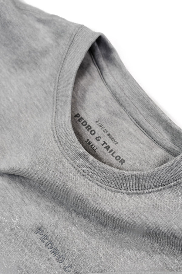 pedro-and-tailor_Algodon Organico Sweatshirt - Heather Grey