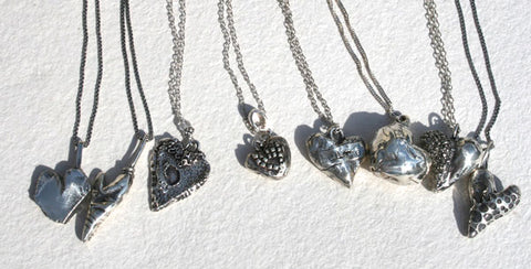 Silver Hearts Collection - Strong Wymyn