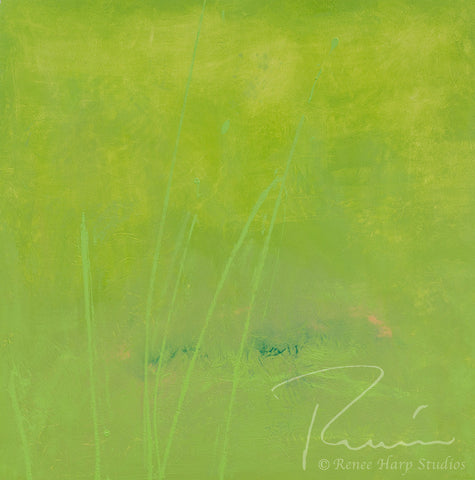 """Cilantro"" - Painting by Renee Harp"