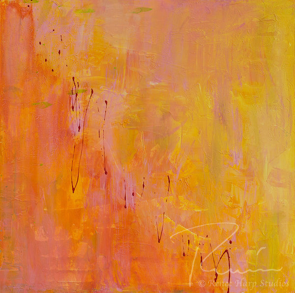 """Popsicle"" - Painting by Renee Harp"