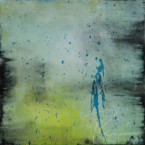 """Rain Dance"" - Painting by Renee Harp"