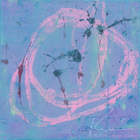 """Pirouette"" - Painting by Renee Harp"