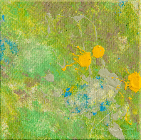 """Field Sample"" - Painting by Renee Harp"