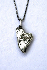 Silver hearts jewelry - You ARE strong enough