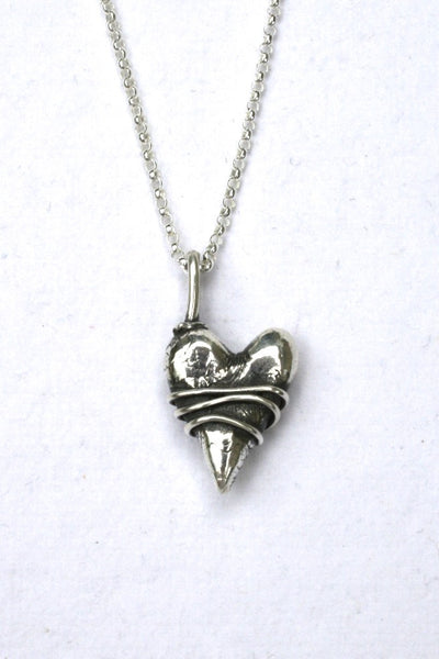 Silver hearts jewelry - Thankful for you